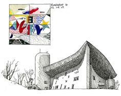 Architectural Sketches - gerard michel