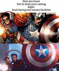 You go Bucky!