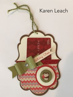 Paper Hearts Crafting Corner: A Little Holiday Cheer Using White Pines Paper Christmas Gift Card Holders, Christmas Tag, Holiday Cards, Christmas Cards, Handmade Christmas, Winter Cards, Rustic Christmas, Christmas Ideas, 3d Templates