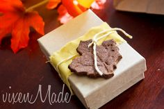 Cinnamon Scented Fall Garland or Package Accents