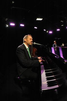 hugh laurie  he's a fantastic actor and a wonderful bluesman