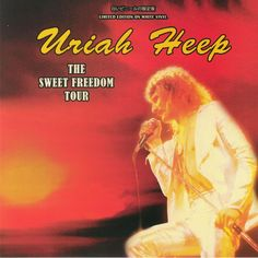 Sweet Freedom Tour - Ltd. Edn. (White Vinyl LP) Coda 5060420347821 Trevor Bolder, Lps, John Wetton, Tour Posters, Movie Posters, Uriah, White Vinyl, Classic Rock, Album Covers