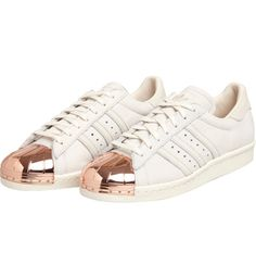 adidas superstars 80s rose gold