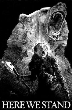 Lady Lyanna Mormont of Bear Island - Game of Thrones Game Of Thrones Artwork, Game Of Thrones Facts, Game Of Thrones Funny, Lady Mormont, Lyanna Mormont, House Mormont, Bear Island, 7 Arts, Game Of Thones