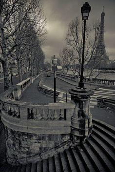 Paris en hiver... mais sans la neige