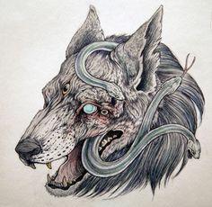 caitlyn hacjett art | caitlin hackett | Illustration water color dark art caitlin hackett ...