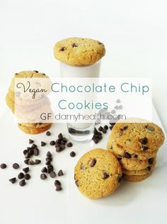 Gluten free chocolate chip cookies. Will try to replace them with carob chips. Haven't made them yet...