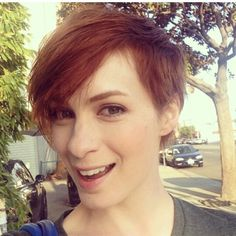 Red pixie felicia day