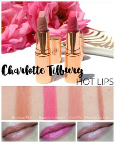 Charlotte Tilbury has released a new lipstick collection. The Charlotte Tilbury Hot Lips Lipstick Collection includes sixteenlipsticks, four of which are existing bestselling favourites, that were inspired by, and created in collaboration with, some the world's most inspiring femalecelebrities. During the first two months of sales of these lipsticks, $2 for each one sold will