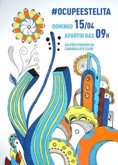 Cartaz para o evento OCUPE ESTELITA  Via: https://www.facebook.com/pages/GogoJob/320786476164