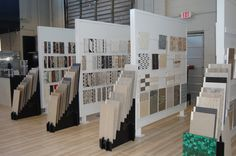 tile display racks - Google Search