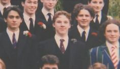 Young Benedict Cumberbatch... Totally thought he was at hogwarts for a second!  Wait a second...he did call it Hogwarts once...