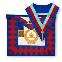 Assistant Secretary Grand Lodge Jewel Pendant Masonic Chain Collar Mason Regalia