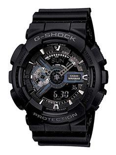 Casio Herren G-Shock Watch, Schwarz - http://uhr.haus/casio/casio-herren-g-shock-watch-schwarz