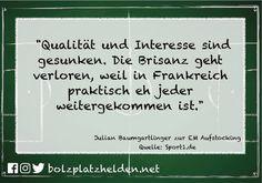 """Julian Baumgartlinger von Bayer Leverkusen kritisiert den """"modernen"""" Fußball und fügt hinzu dass dieses System krank ist...  #bolzplatzhelden"""