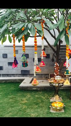 Wedding Garden House Trees 38 Ideas For 2019 Diwali Decorations, Stage Decorations, Indian Wedding Decorations, Festival Decorations, Flower Decorations, Engagement Decorations, Ganapati Decoration, Mehndi Decor, Mehendi