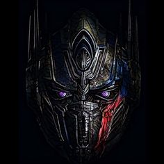 Transformers: The Last Knight - Optimus Prime Head (Prisma Edit). #prisma #edit #transformers #transformersthelastknight #2017 #autobot #leader #optimusprime