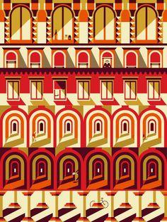 Malika Favre - Carluccio's Christmas | Handsome Frank Illustration Agency