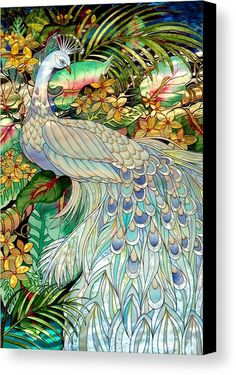 [I like this pastel version of a peacock.] Stained Glass 53 by Joyce StJames - Stained Glass 53 Photograph - Stained Glass 53 Fine Art Prints and Posters for Sale Stained Glass Panels, Stained Glass Patterns, Leaded Glass, Stained Glass Art, Window Glass, Glass Painting Patterns, White Peacock, Peacock Art, Indian Peacock