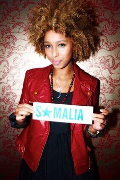 #somalia #fro #highlights #natural #hair
