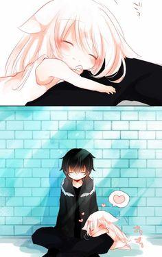 Kawaii Neko Girl, Sad Stories, Anime Films, S Girls, Daddy, Wallpaper, Artwork, Cute, Beautiful