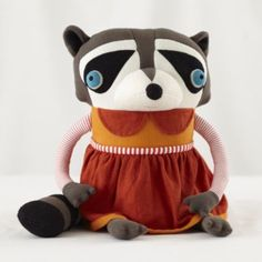 Cotton Monster Raccoon (Mom)  | The Land of Nod $49