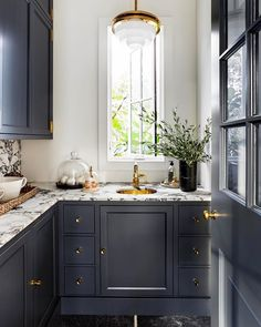 Top 5 Inexpensive kitchen Room ideas The Waterworks R. Atlas faucet and pendant light take centre stage in this beautiful pantry interior designed by the. Farmhouse Kitchen Cabinets, Kitchen Dining, Kitchen Decor, Kitchen Ideas, Kitchen Inspiration, Kitchen Pantry Design, Sustainable Architecture, Beautiful Kitchens, Cheap Home Decor