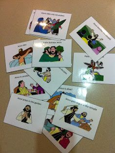 Bible Story Sequencing Cards
