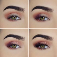 Makeup Tutorial Eyeshadow Smokey Eye Eyeliner Step By Step 63 Ideas Eye Makeup Steps, Simple Eye Makeup, Smokey Eye Makeup, Skin Makeup, Makeup Eyeshadow, Smoky Eye, Matte Makeup, Red Makeup, Natural Makeup
