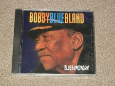 BOBBY BLUE BLAND Blues At Midnight (CD, Music, Blues, Male, Vocals, Malaco, 2003