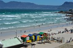 Muizenberg Beach is one of Cape Town's most famous beaches, situated on the warm Indian Ocean, it also boasts international Blue Flag status. Visit South Africa, Le Cap, Surf Trip, Out Of Africa, Africa Travel, Cape Town, Live, Great Places, Tourism