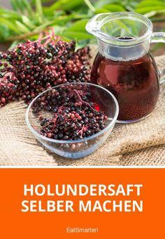 Holundersaft Rezept   EAT SMARTER