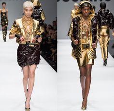 Moschino 2014-2015 Fall Autumn Winter Womens Runway Looks - Milano Moda Donna Milan Fashion Week - Camera Nazionale della Moda Italiana - De...