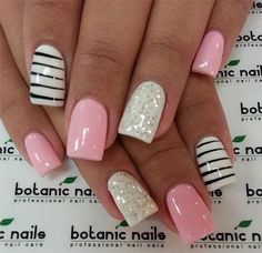 Pink by Rebeca from Nail Art Gallery