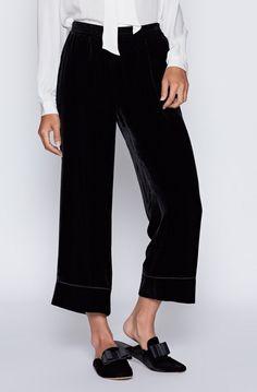 Kaitrine Velvet Pants