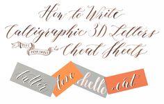 How to Write Calligr