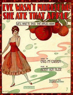 """""""We'll have to pass the apples again"""" -- to make women more modest!"""