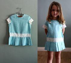 authentic vintage 1960's dress.  So cute...