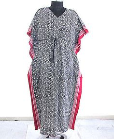 Womens Nightwear Maxi Dress Kimono Sleeves Caftan Kaftan Cocktail Maternity wear