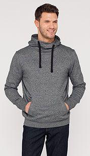 Hooded Sweatshirt gray melange