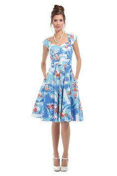 Collectif Aida Zak Hawaiian Dress