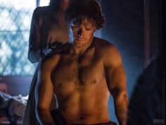 New Still of Shirtless Sam Heughan as 'Outlander's' Jamie Fraser will Rock Your World!