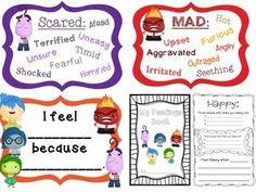 """ Bulletin Board and Book Set based on Pixar's ""Inside Out"" Emotional Regulation, Emotional Development, Counselor Bulletin Boards, Inside Out Emotions, School Social Work, First Year Teachers, Kindergarten Lessons, Social Thinking, School Psychology"