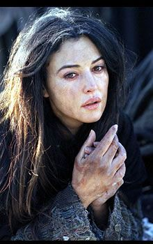 Mary Magdalene in The Passion of the Christ.