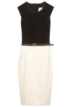 Jason Wu contrast dress with belt