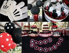 everything about this party is adorable and i'm not a fan of mickey mouse lol