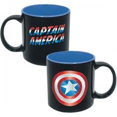 Captain America Iridescent Shield Coffee Mug