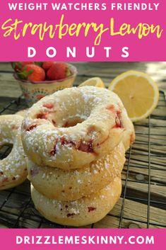 WW Strawberry Lemon Donuts