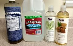 This is a basic and super simple DIY Foaming Hand Soap recipe you can customize to suit your own needs. Clove Essential Oil, Cinnamon Essential Oil, Simple Diy, Super Simple, Foaming Hand Soap Dispenser, Liquid Castile Soap, Vegetable Glycerin, Soap Recipes, Sweet Almond Oil