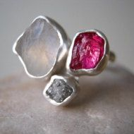 Square Bowl Stack Rings mix and match Classic Quadro